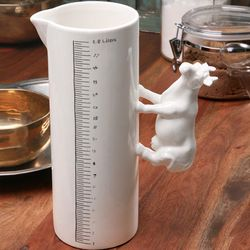 Cow Farm Animal Measuring Vase