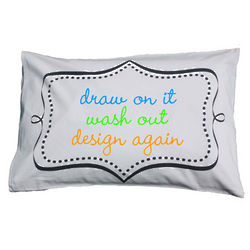 Doodle Washable Pillowcase