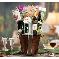 Yellow Tail Trio Gift Basket