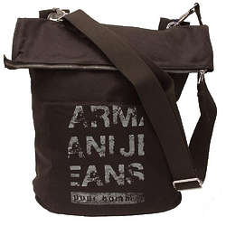 Armani Jeans Dark Green Messenger Bag