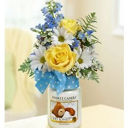 Soft Blanket Yankee Candle Floral Bouquet