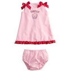 Personalized Cupcake Party Dress