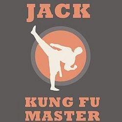 Kid's Kung Fu Master Long Sleeve T-Shirt