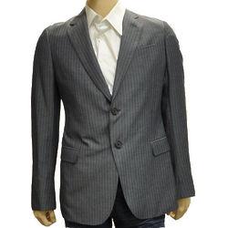 Striped Polyester Jacket