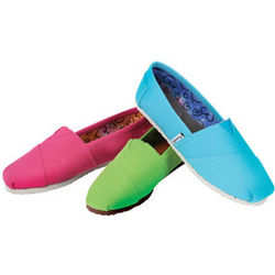 Bright Espadrilles Canvas Shoes