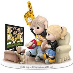 Your NFL Team Precious Moments Porcelain Figurine