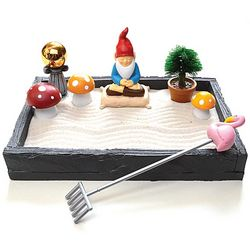 Zen Garden Gnome Decoration