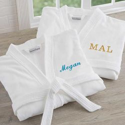 Personalized Velour Spa Robe