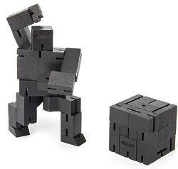 Cubebot Ninja Black 3D Wooden Brainteaser Puzzle