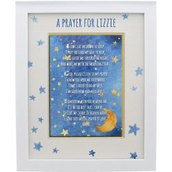 Personalized Framed Good Night Prayer