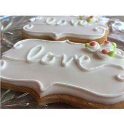 Love Wedding Cookie Favors