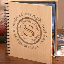 Personalized Circle of Strength Family Photo Album