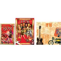 40th Birthday or 40th Anniversary Package for 1976