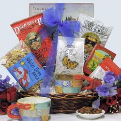 Savory Summer Treats Sweet & Salty Gourmet Gift Basket