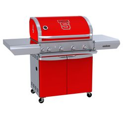 NC State Wolfpack Team Grill Patio Series MVP Gas Grill