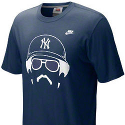 New York Yankees Reggie Jackson Cooperstown Hair-itage T-Shirt