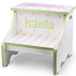Hand Painted Ballet Stool