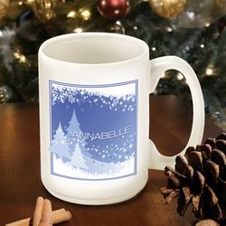 Blue Snowscapes Coffee Mug