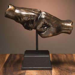 Fist Bump Sculpture