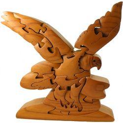Bald Eagle 3D Wooden Puzzle