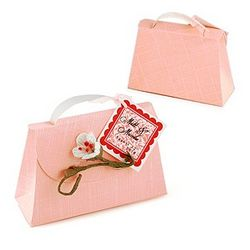 Blushing Bride Purse Favor Box