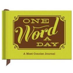 One Word a Day Hardcover Journal