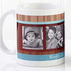 Photo Message Personalized 11-Ounce Coffee Mug