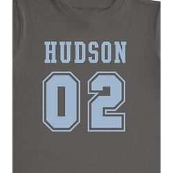 Personalized Sport Number T-Shirt