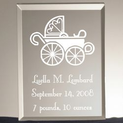New Baby Personalized Acrylic Plaque