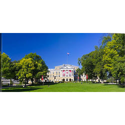 University of Wisconsin Madison Bascom Hill Panorama Canvas Art