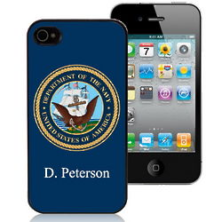 US Navy Personalized iPhone Case