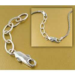 Necklace Extender - Sterling Silver