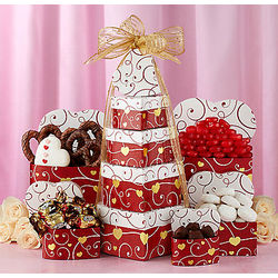 Tower of Hearts Gift Box