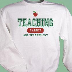 Personalized Teacher Sweatshirt