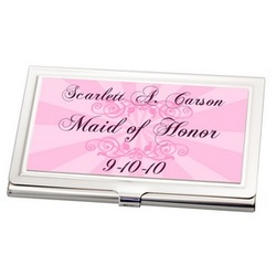 Maid of Honor Business Card Holder