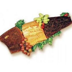 Neapolitan Smoked Atlantic Salmon Sampler Gift Box