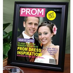 Personalized Prom Fashion Magazine Cover