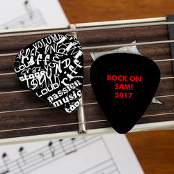 Rock On Personalized Guitar Picks