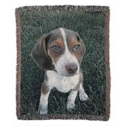 Classic Photo Woven Throw Blanket
