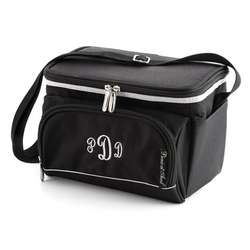 Black Insulated Lunch Cooler