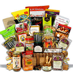 Signature Series Healthy Snack Basket