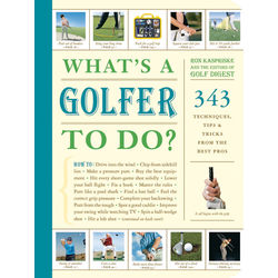 What's a Golfer To Do? Book