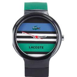 Lacoste Men's Striped Goa Tennis Watch
