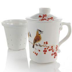 Cardinal Infuser Mug