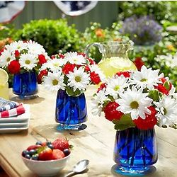 American Dream Flower Bouquet Trio
