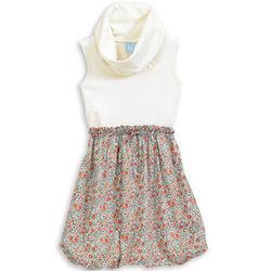 Girl's Meg Cowl Neck Dress