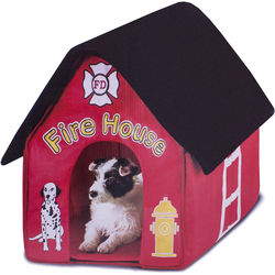 Fire House Indoor Dog House