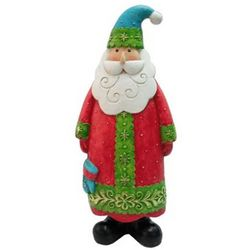 Brighten the Season Santa Figurine
