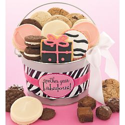 Another Year of Fabulous Sweets Gift Pail