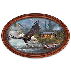 Majestic Retreat Personalized Masterpiece Framed Plate